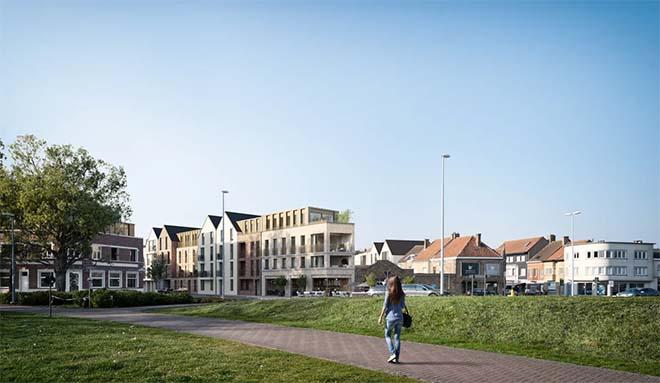 Woonproject 'Hof ten Yser' in Nieuwpoort