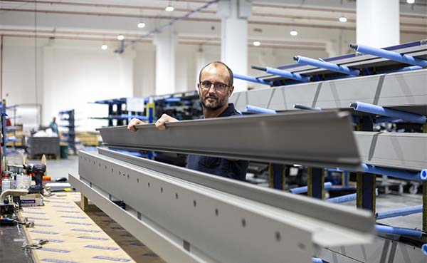 Renson outdoor: uniek staaltje automatisatie van maatwerk