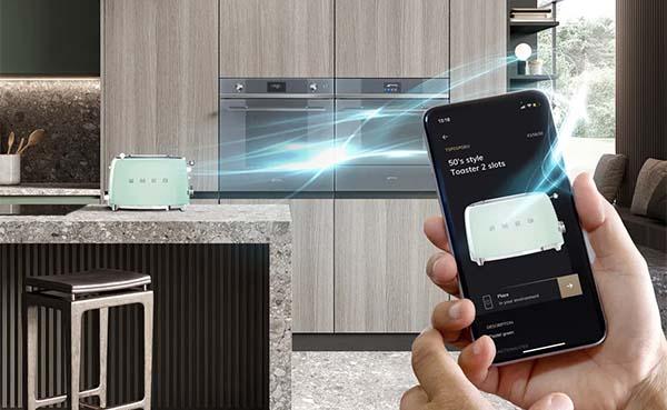 Smeg droomkeuken in augmented reality