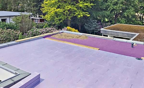 Plat dak effectief en tijdbesparend saneren met het omkeerdak