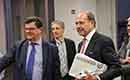 Vlaams Minister van Energie Bart Tommelein bezoekt Renson