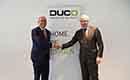 Provinciegouverneur vereert Duco met bedrijfsbezoek