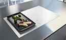 Nieuwe witte en zwarte krasvaste inductie kookplaten