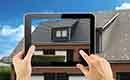 Snelle simulatie van nieuw dak met de Icopal Decra foto app