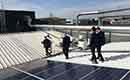 Werknemers en particulieren helpen Kortrijks bedrijf aan groene energie