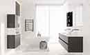 Avino hoort in de minimalistische badkamer