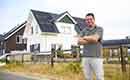 Peter Stein bouwt eigen Passiefhuis met energiebehoefte van slechts 15 m2 K/W