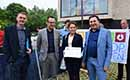 Memorandum burger-energie overhandigd aan minister Lydia Peeters
