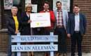 Recticel Insulation overhandigt cheque van €1.000 aan vzw Kinderfonds de Tondeldoos