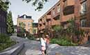 Cohousingproject Botanico neemt vijf keer  minder ruimte in dan klassieke verkaveling