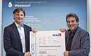 Remeha cv-ketels als eerste Kiwa-gecertificeerd voor waterstof bijmenging