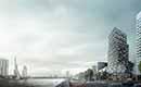 The Terraced Tower in Rotterdam, het toonbeeld van het concept Gestapeld Geluk