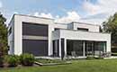 Case study: Grote raampartijen smeekten om buitenzonwering in moderne villa